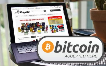 Pay Poppers with Bitpay